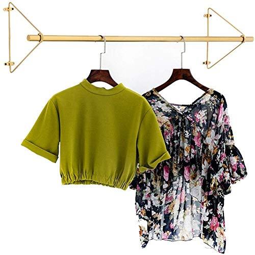 Yanganjin Wandkapstok voor paraplu, met hanger, eenvoudige wand- en metaalkleding, voor dames