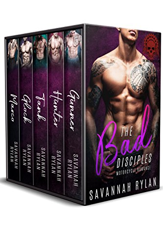 The Bad Disciples MC Series: Books 1-5 (English Edition)