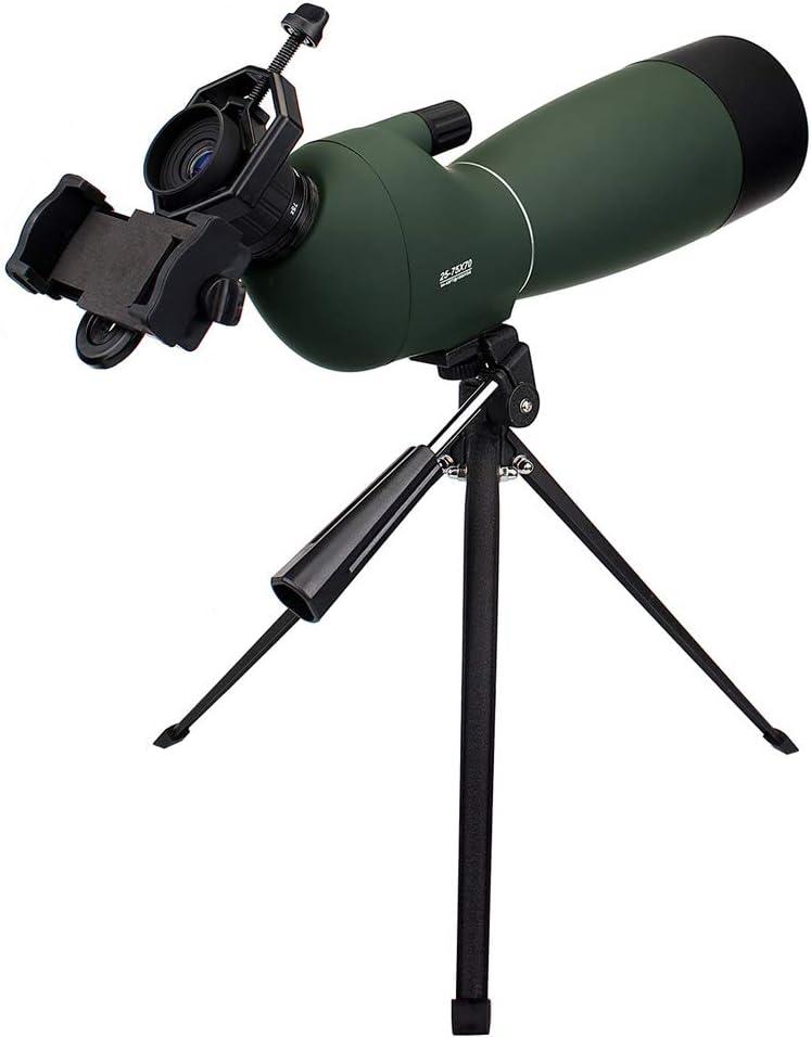 RUIHUA 25-75X70mm HD Monocular Telescope It is very popular FMC Wa Zoom Lens Coated Max 65% OFF