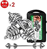 LCSW Dumbbells Tnp Adjustable Dumbbells Set Electroplated Dumbbell Pairs Detachable Fitness Equipment for Home Workout Fitness Exercise Arm Muscles Work Out (Color : 20kg) (Color : 20kg)