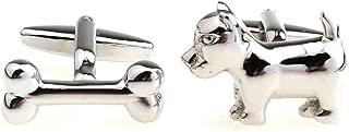 dog bone cufflinks