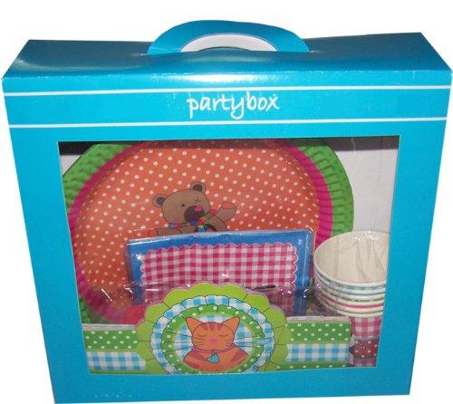 Birthday Partybox ou La Boîte à anniversaire vaisselle assiette