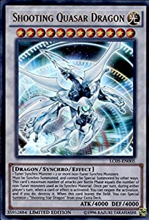 Yu-Gi-Oh! - Shooting Quasar Dragon (LC05-EN005) - Legendary Collection 5D's - Limited Edition - Ultra Rare