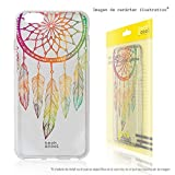LG K5 Case - FunnyTech® Silicone Gel Cover Transparent for