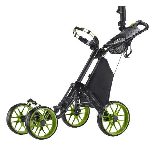 Caddytek Plegable con un Clic 4Rueda versión 3Carrito de Golf, Hombre Mujer...