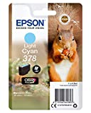 Epson c13t37854010378Claria Photo HD cartucho de tinta–cian claro válido para EPSON Expression Photo XP-8500 / XP-8505, Ya disponible en Amazon Dash Replenishment