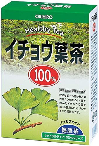 オリヒロ NLティー 100% イチョウ葉茶 2.0g×26包