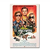 Filmplakat Es war einmal in Hollywood Retro Art Prints