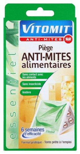 Vitomit - Lot de 2 Pièges Anti-Mites Alimentaires