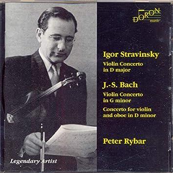 Peter Rybar Plays Stravinsky & J. S. Bach