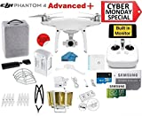 DJI Phantom 4 ADVANCED Plus Quadcopter Drone with 1-inch...