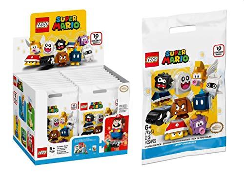 LEGO 71361 Super Mario Mario-Charaktere-Serie | Display [20 Tütchen]