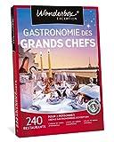 wonderbox - coffret cadeau - gastronomie des grands chefs - 240 grands restaurants étoilés