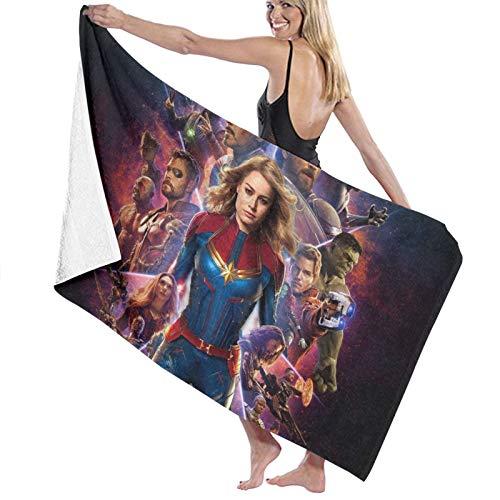 Captain Marvel Beach towels ultra absorbent microfiber bath towel picnic...