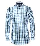 Redmond – Camisa de manga larga para hombre con botón Down cuello y bolsillo en el pecho (201065111) Azul (10). XXXXL