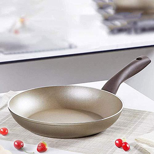 supermalls Sartén de freír, cerámica de Cobre inducción Antiadherente al Horno de Fondo Seguro lavavajillas Seguro Chef de Aluminio cookware freír