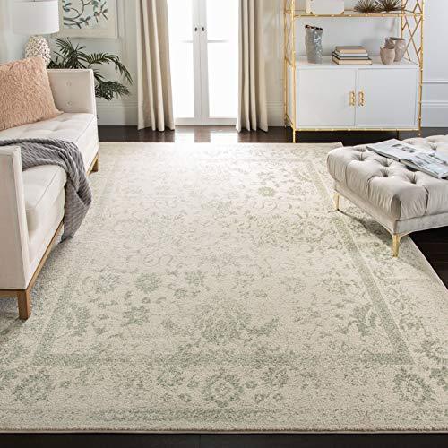 Vintage distressed area rug