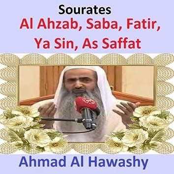 Sourates Al Ahzab, Saba, Fatir, Ya Sin, As Saffat (Quran - Coran - Islam)