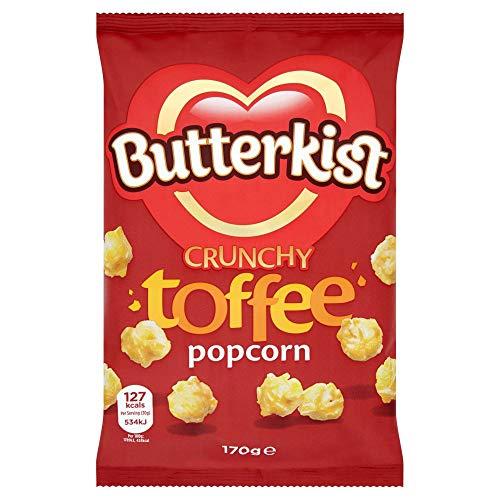 Butterkist Toffee Popcorn Snacks, 170 g