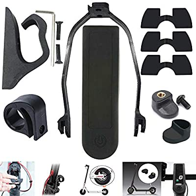 chuancheng Accessories Kit Set for Xiaomi Mijia M365 & Pro Series Electric Scooter Hook, Vibration Dampers 0.6mm 0.8mm 1.2mm, Rear Fender Support