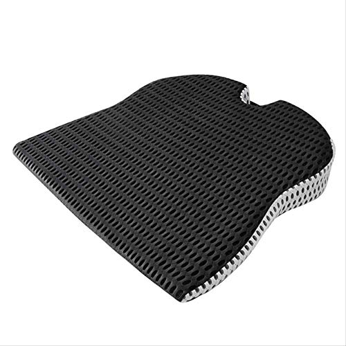 Car Wedge Seat Cushion for Car Driver Seat Office Chair Wheelchairs Memory Foam Seat Cushion-Orthopedic Support and Pain Relief