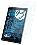 Bruni Schutzfolie kompatibel mit Medion LIFETAB X10311 MD60654 Folie, glasklare Bildschirmschutzfolie (2X)