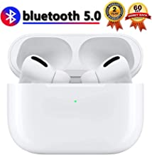 Wireless Earbuds Bluetooth 5.0 Headphones with?24Hrs Charging Case? IPX5 Waterproof, 3D Stereo Headphones in-Ear Earbuds Built-in Mic, Pop-ups Auto Pairing for Apple Airpods pro/Samsung/Android
