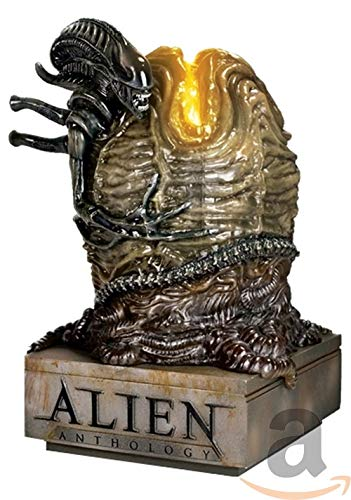 Alien Anthology Collection (4 Films) - 6-Disc Box Set and Illuminated Egg Statue ( Alien / Aliens / Alien 3 (Alien³) / Alien: Resurrection ) [ Holländische Import ] (Blu-Ray)