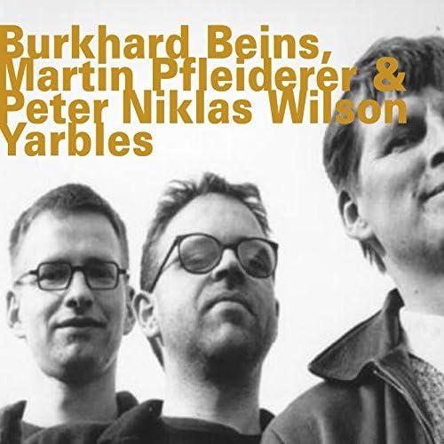 Burkhard Beins, Martin Pfleiderer & Peter Niklas Wislon