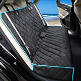 Yicostar Bench Dog Car Seat Cover for Back Seat, Non-Slip Pet Seat Cover Heavy Duty Dog Back Seat Cover Protector for Cars Trucks and SUVs