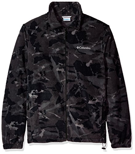 Columbia Men's Cascades Explorer Full Zip Fleece Jacket, black Woodsy, Small