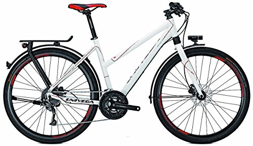 Univega Damen Geo 4.0 Fahrrad, Weiß (white), 50