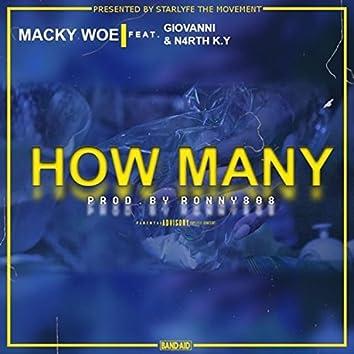 How Many (feat. Giovanni & N4rth K.Y)