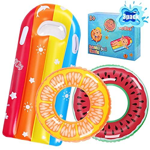 ARANEE Schwimmring Donut Kinder Schwimmreifen Luftmatratze Aufblasbare Schwimmnudel Schwimmreifen Schwimmkissen für den Pool Strand Sommer