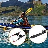 N\A 2pcs Kayak Pedal Tirantes Ajustables Bloqueo Kayak Pedales con los Kits de Herramienta del Sistema de Cola de dirección del timón de dirección del Control del pie Kayak Accesorios