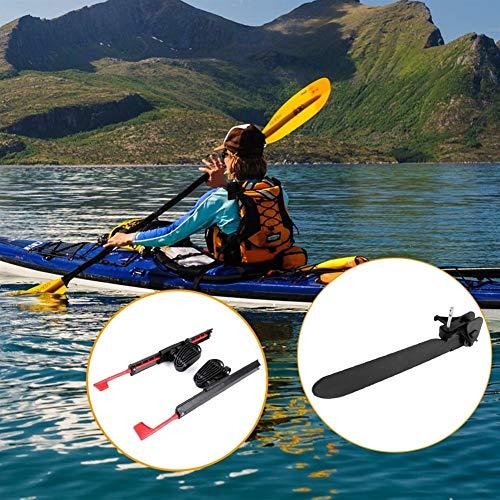 N\A 2pcs Kayak Pedal Tirantes Ajustables Bloqueo Kayak Pedales con los Kits de Herramienta del Sistema de Cola de dirección del timón de dirección del Control del pie por Remo