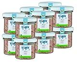 BIOPUR Bio Katzenfutter Rind & Reis für Katzen 12x100g
