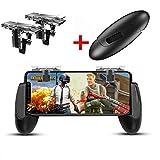 Mobile Game controller, Game Pad sensibili spara e obiettivo tasti joystick Game controller per coltelli Pubg/Fortnite/OUT/regole di sopravvivenza gioco di attivazione per iOS e Android by Ysshui