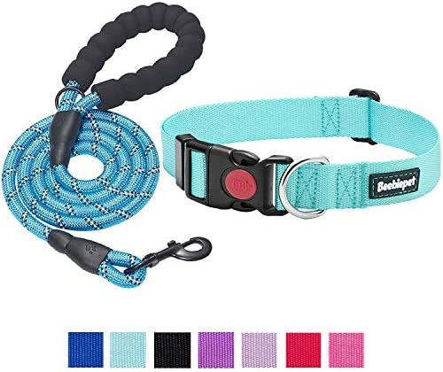 beebiepet Classic Nylon Dog Collar with Quick Release Buckle Adjustable Dog Collars for Small product image