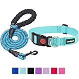 WIDE SIZE RANGE: the Beebiepet classic dog collar size range is from XS to XL fits all breed of dogs. Please measure your dog's neck girth with a soft measuring tape to choose right size. please leave about 2 fingers breathing room between dog collar...
