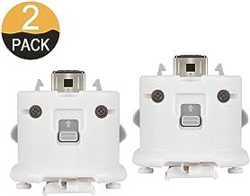 $23 » 2PCs WII Motion Plus MotionPlus Adapter Sensor 2 Pack External Remote Sensor Accelerator Attachment Sports Resort Accessories for Nintend WII U Remote Controller White