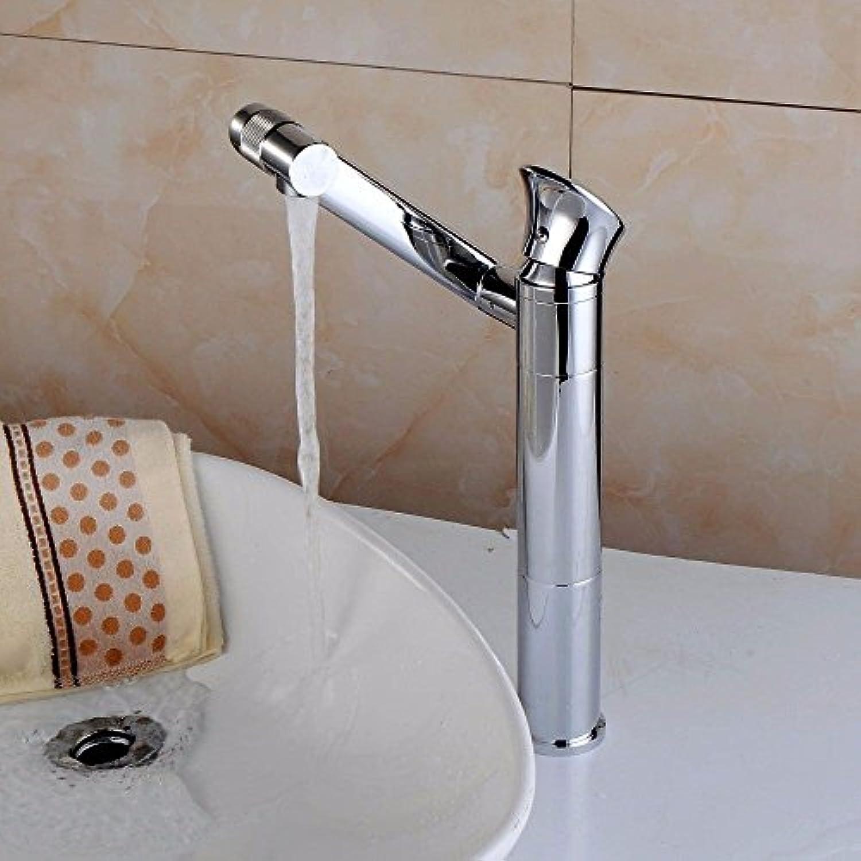 MNLMJ Moderne einfacheKupfer heie und kalte küche waschbecken wasserhhne küchenarmatur Galvanik dreh warmes und kaltes Wasser Keramik ventil einlochmontage einzigen handgriff Bad waschtischmischer