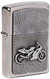 Zippo 200 Motor Bike Emblem Feuerzeug, Messing