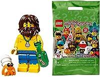 レゴ(LEGO)ミニフィギュア シリーズ21 漂流者 │ Shipwreck Survivor 【71029-3】