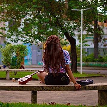 Sentado na Praça
