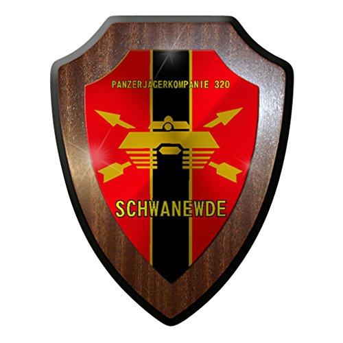 Wappenschild/Wandschild / Wappen - Panzerjägerkompanie 320 Schwanewede #8340