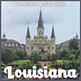 Louisiana Calendar 2021-2022: April 2021 Through December 2022 Square Photo Book Monthly Planner Louisiana, small calendar