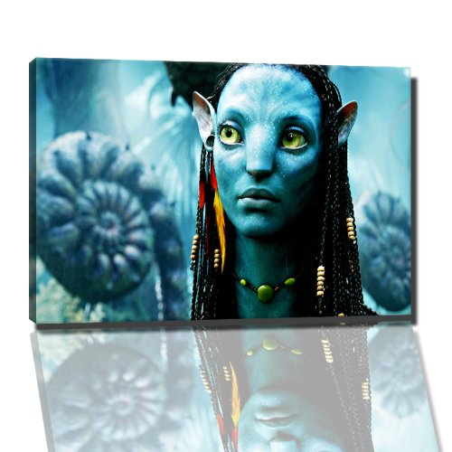 Avatar foto op canvas - 60x40 cm kant-en-klare kunstdruk afbeeldingen als muurschildering - Goedkoper dan olieverfschilderij of schilderij - GEEN poster of affiche