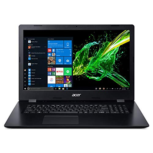 Acer ES1 (17,3 Zoll) Notebook (Intel core i3-7020U 2,3GHz, 8GB RAM, 1000 GB SSD, Intel HD Graphic, HDMI, Webcam, USB 3.0, WLAN, DVD-Brenner, Windows 10 Professional 64-Bit) #4982 (Generalüberholt)
