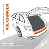 Ladekantenschutz Folie   Ladekantenschutzfolie › passgenau für: VW ID.3 ab BJ 11/2019 ✓ Hochtransparent-Glänzend/Glatt ✓ Stärke 150 µm (0,15mm)